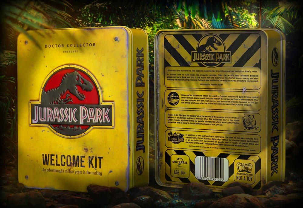 Coffret kit welcome jurassic park suukoo toys collection jouet 12
