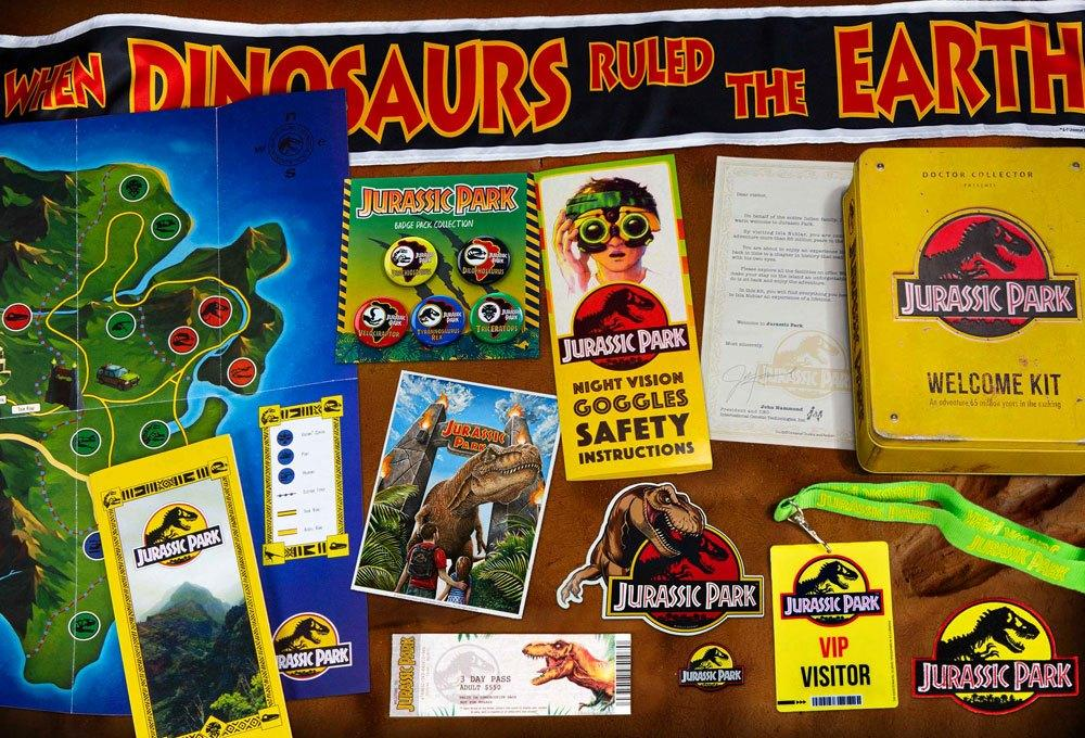 Coffret kit welcome jurassic park suukoo toys collection jouet 2