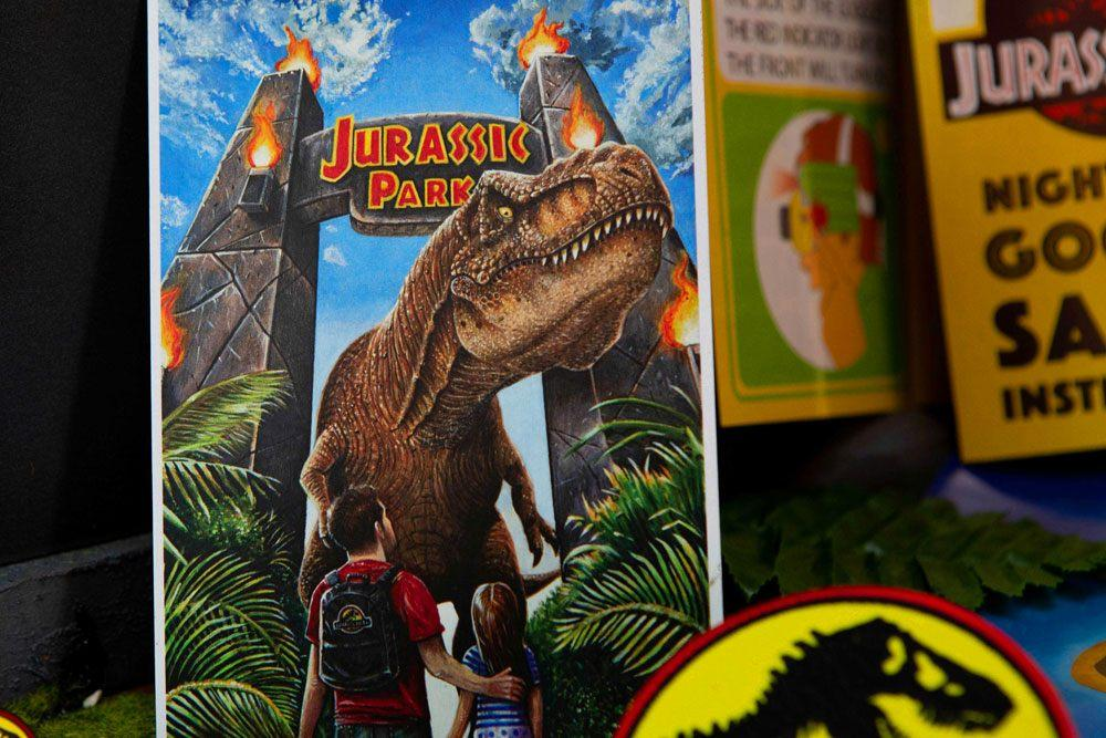 Coffret kit welcome jurassic park suukoo toys collection jouet 9