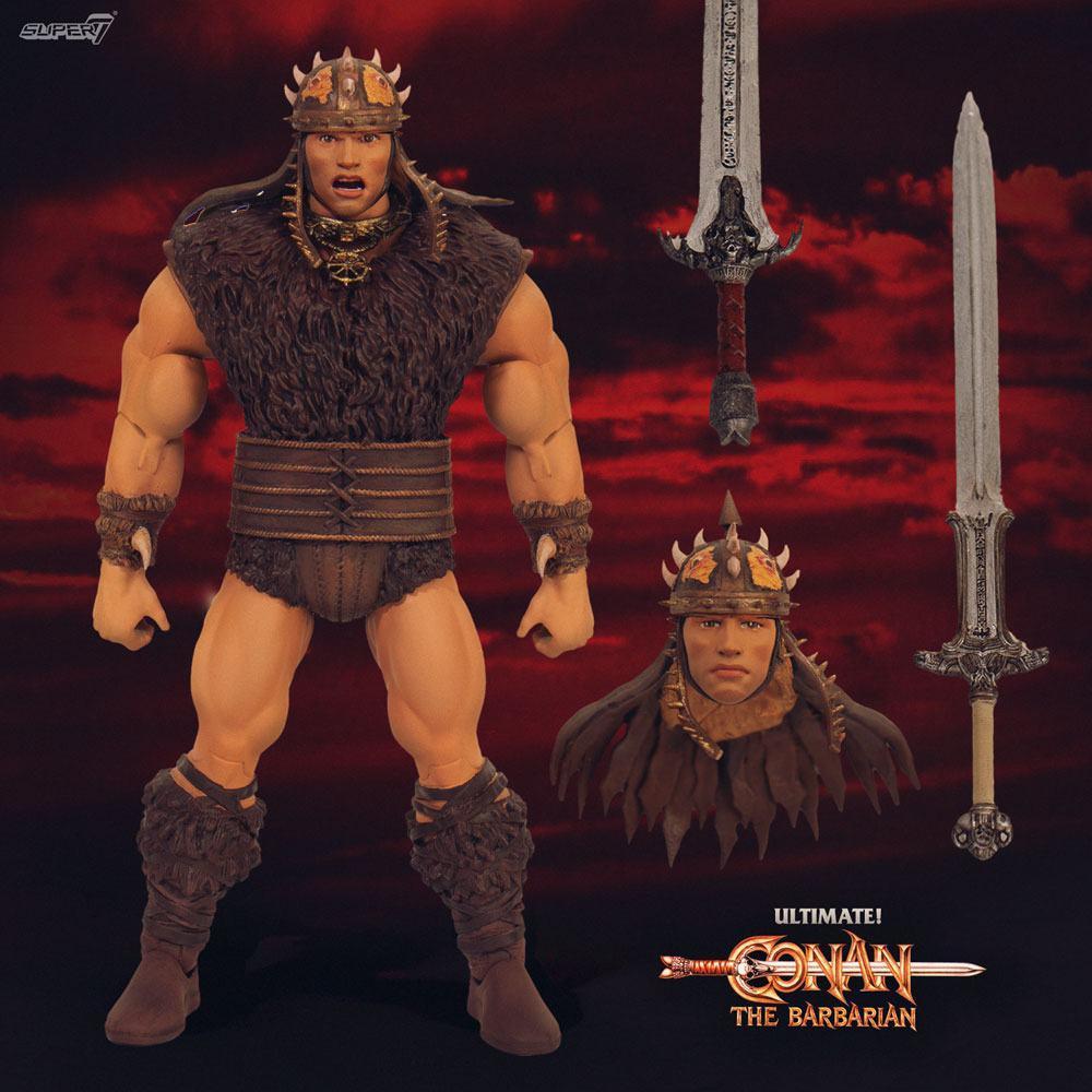 Conan le barbare figurine ultimates conan 18 cm 2