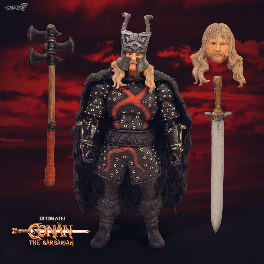 Conan le barbare figurine ultimates rexor 18 cm 2