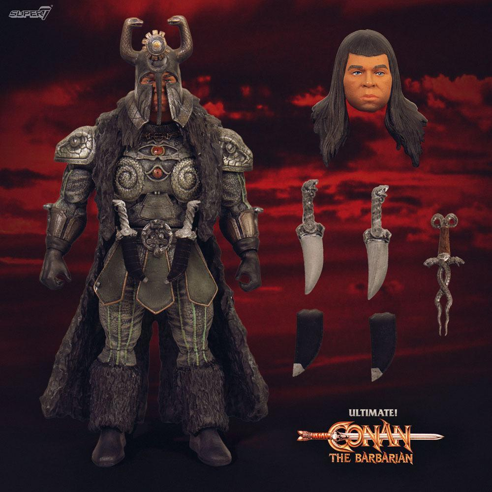 Conan le barbare figurine ultimates thulsa doom 18 cm 2