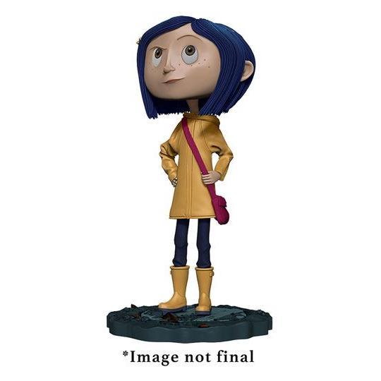 Coraline bobble head figurine