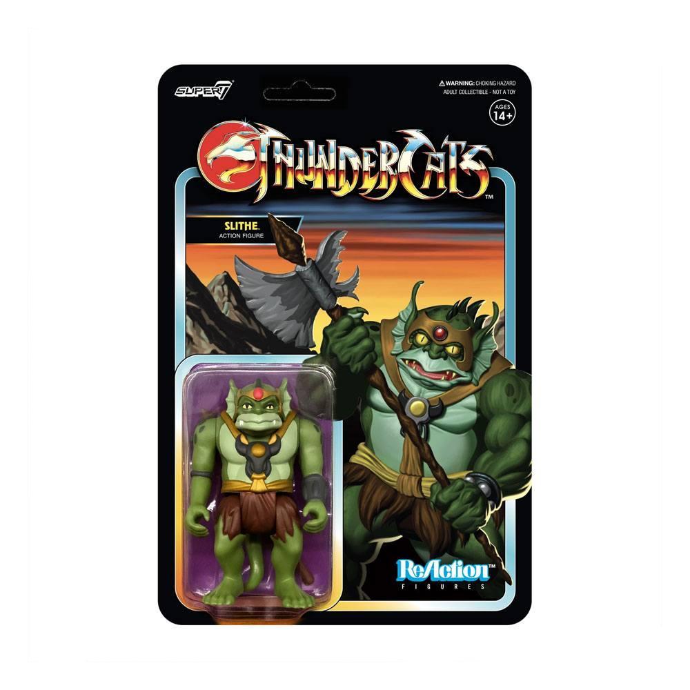 Cosmocats figurine reaction slithe super7 suukoo toys thundercats