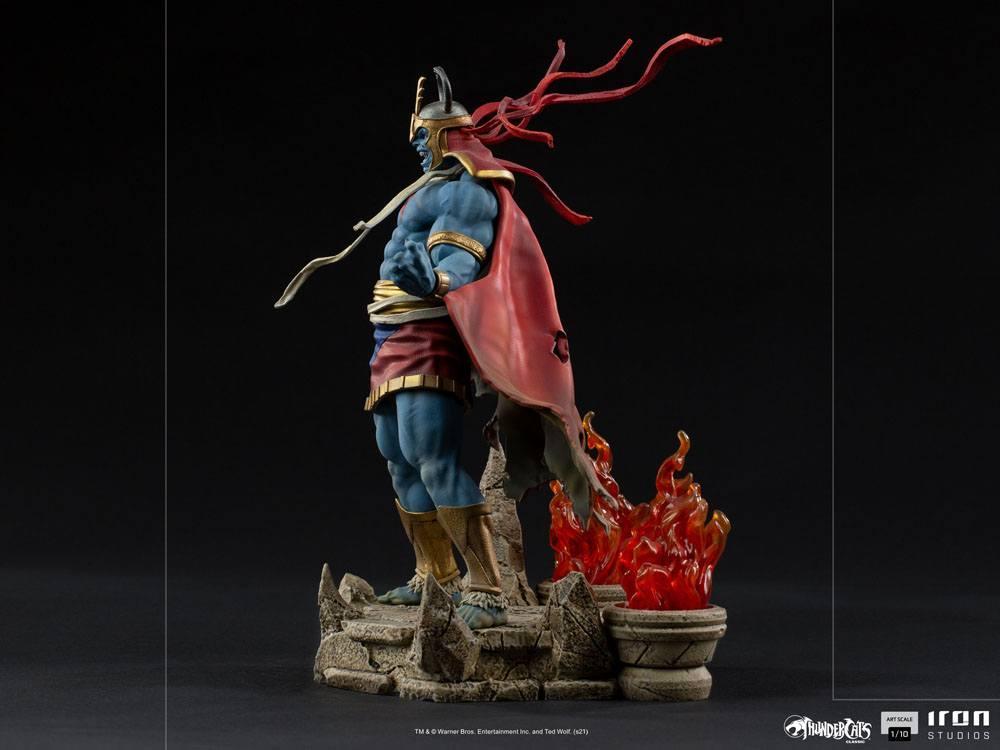 Cosmocats statuette bds art mumm ra 28 cm iron studios suukoo toys 10