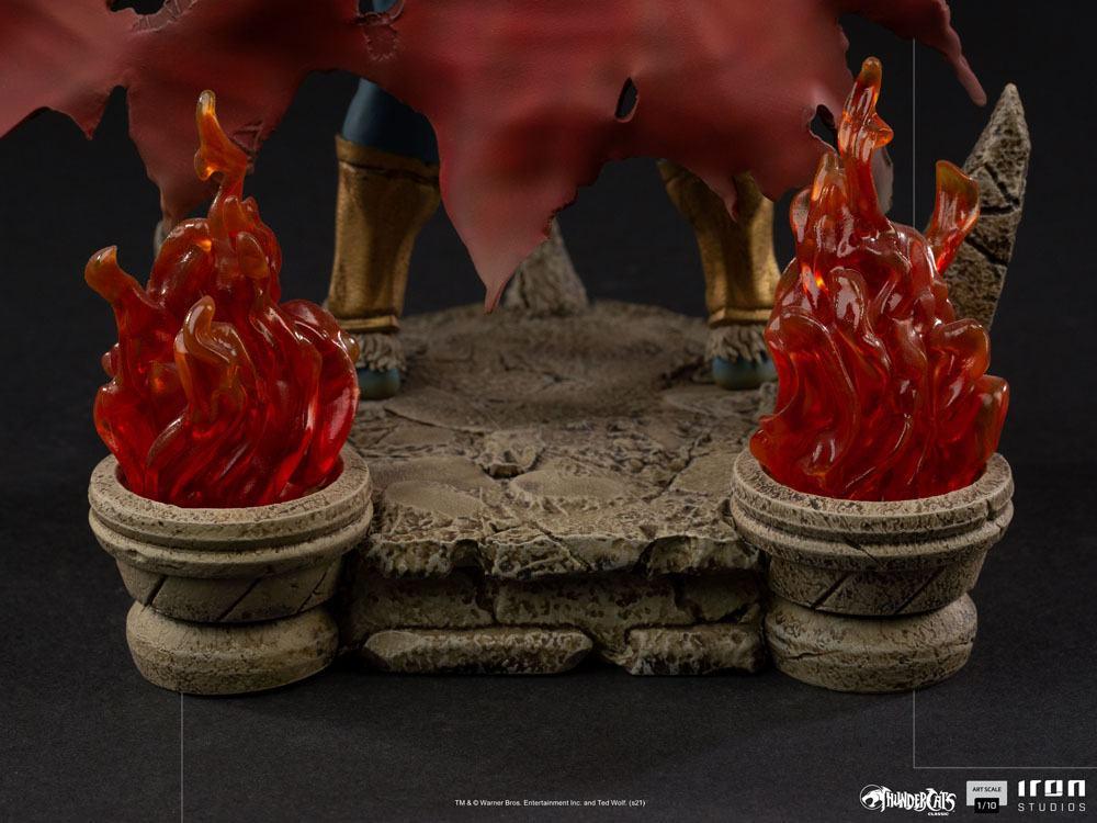 Cosmocats statuette bds art mumm ra 28 cm iron studios suukoo toys 5