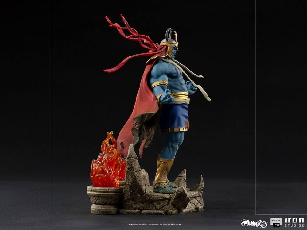 Cosmocats statuette bds art mumm ra 28 cm iron studios suukoo toys 8