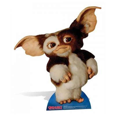 Cutout gizmo cardboard silhouette chevalet gremlins