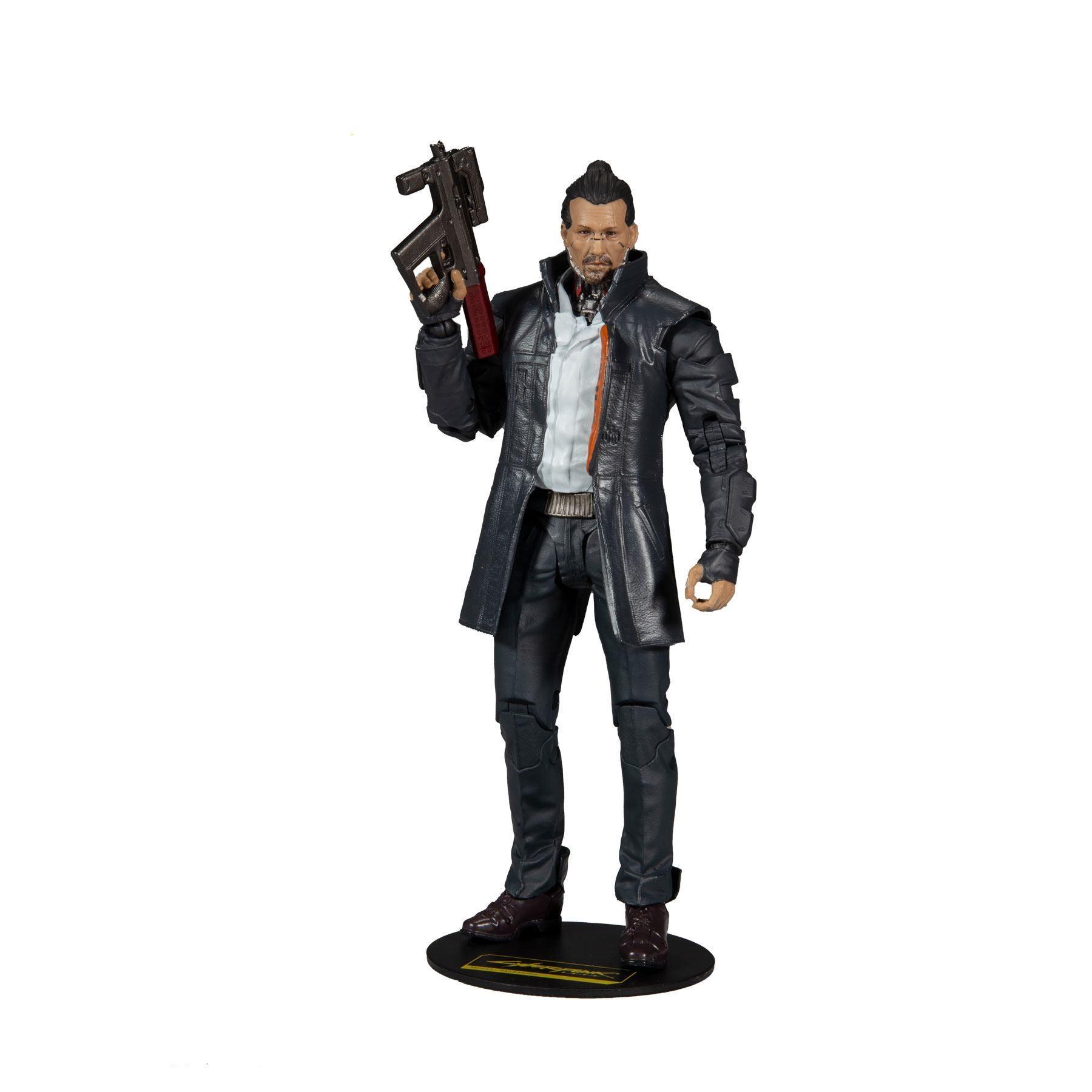 Cyberpunk 2077 figurine takemura 18 cm 1