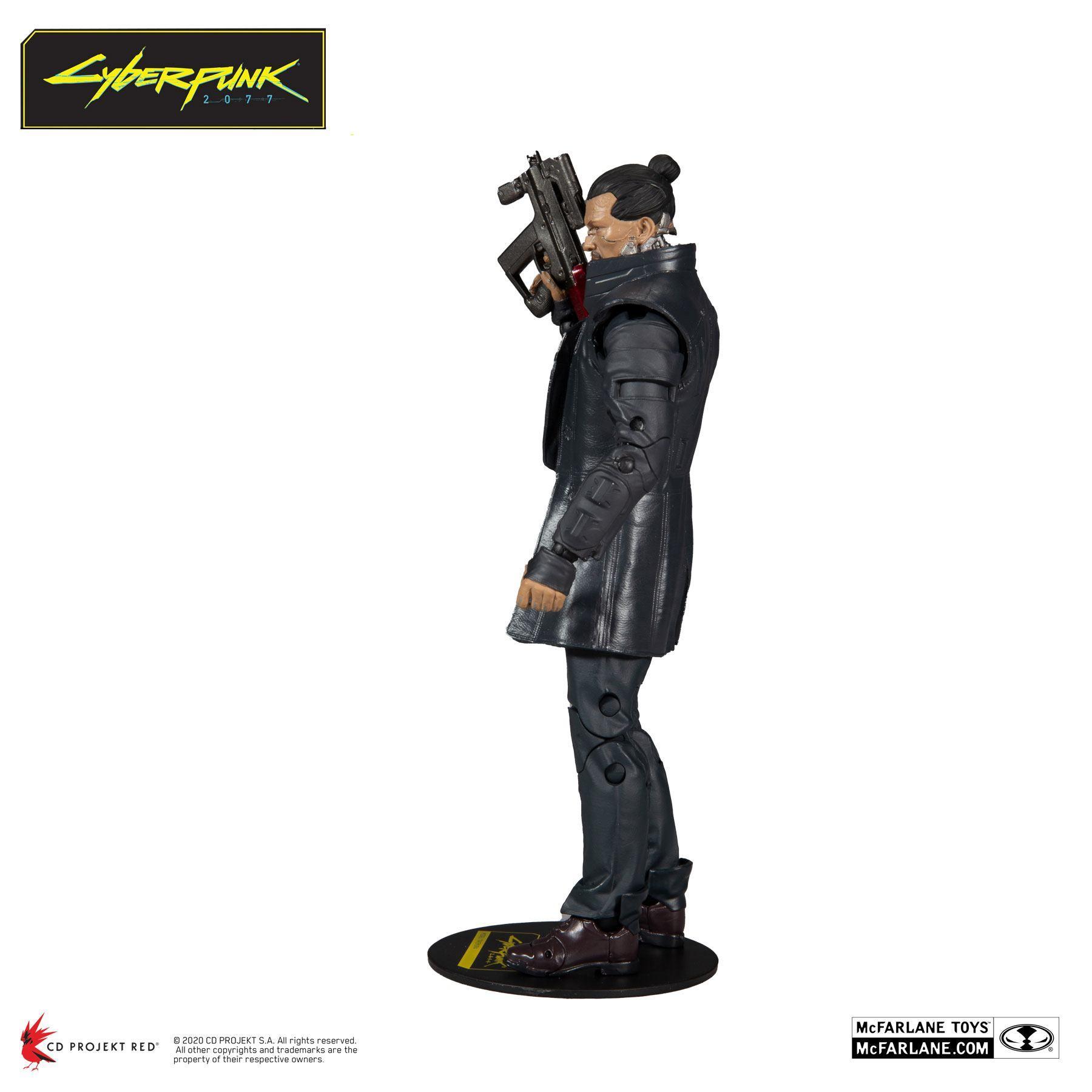 Cyberpunk 2077 figurine takemura 18 cm 2
