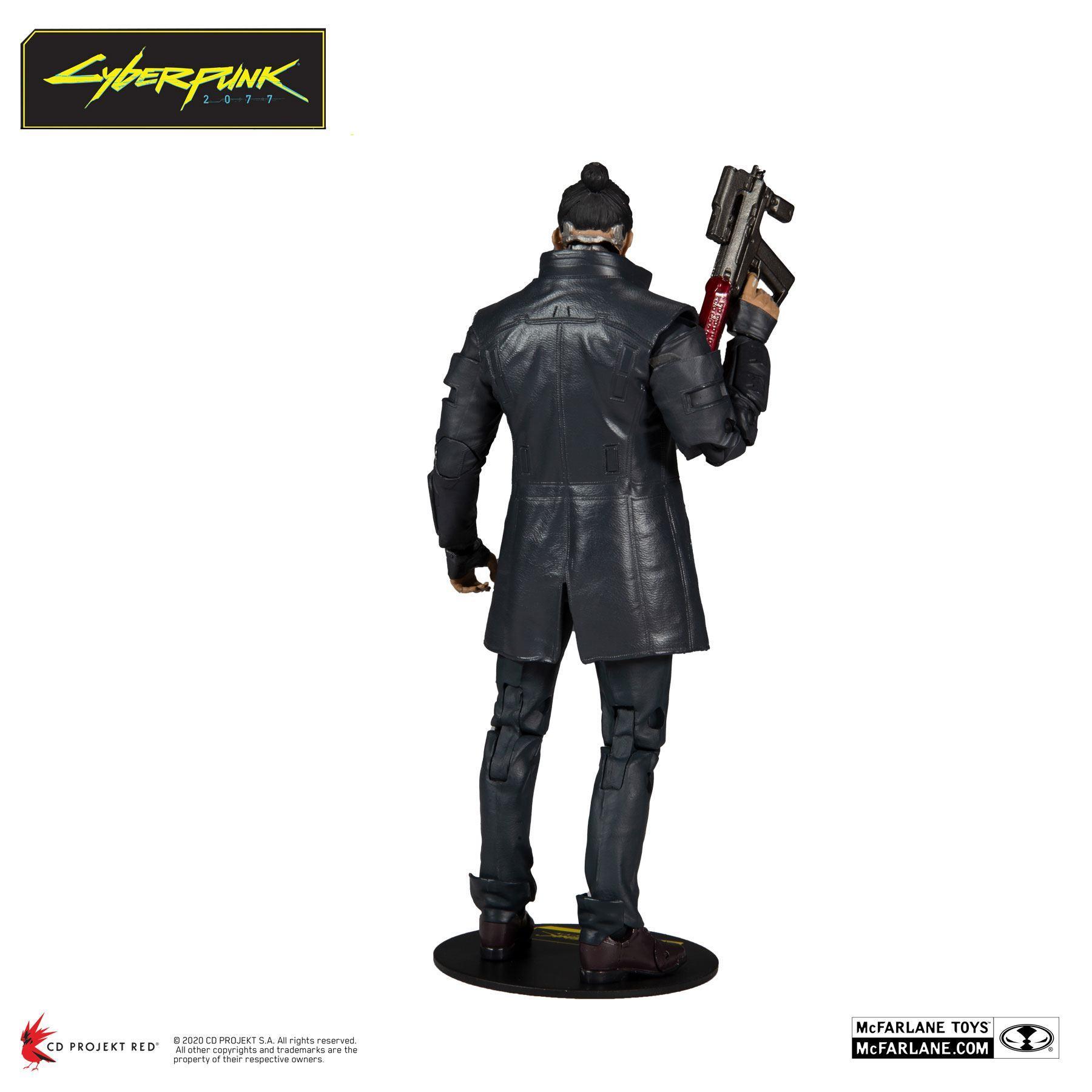 Cyberpunk 2077 figurine takemura 18 cm 3