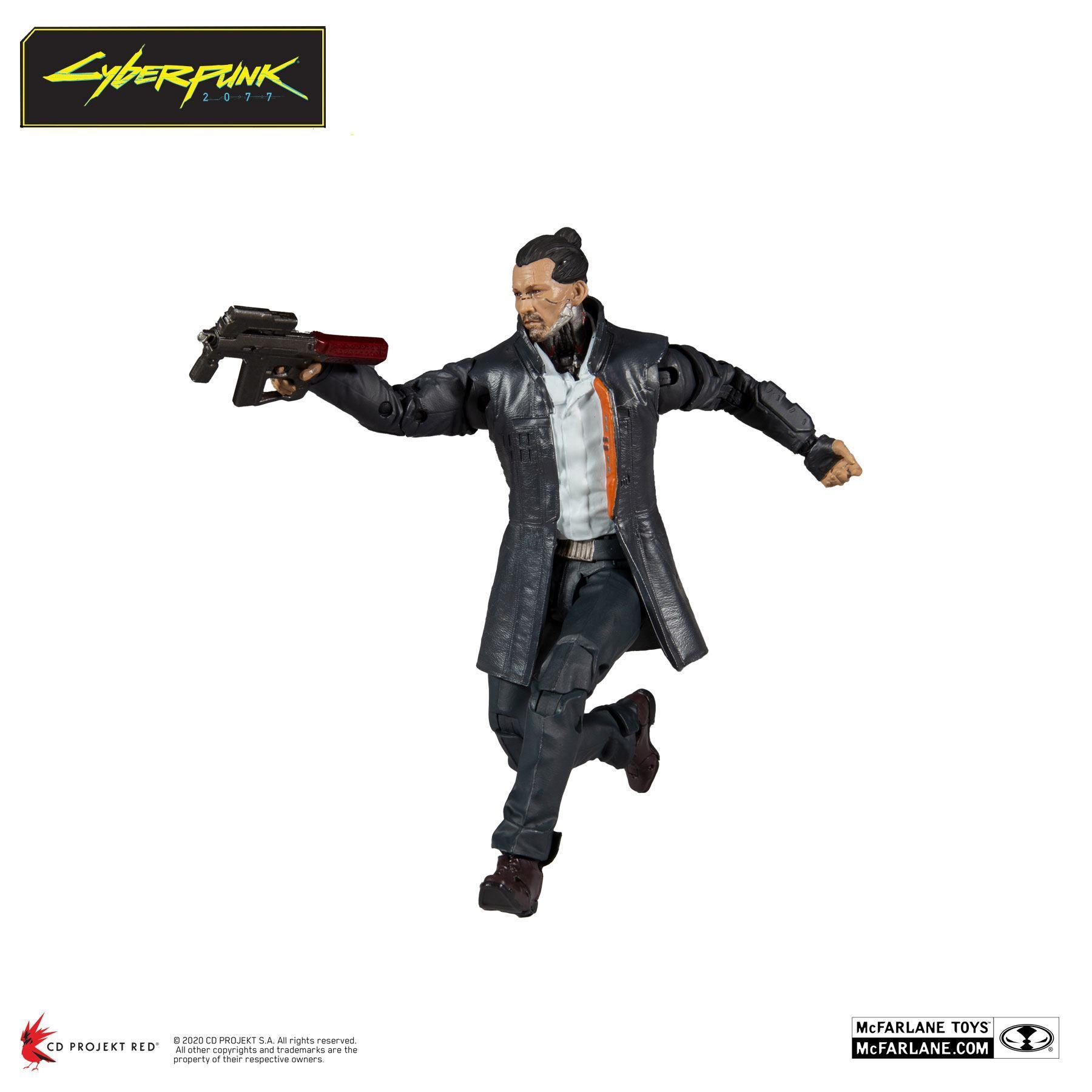 Cyberpunk 2077 figurine takemura 18 cm 4