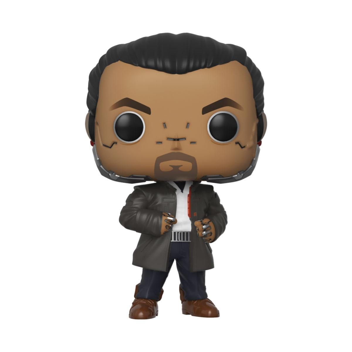 Cyberpunk 2077 pop games vinyl figurine takemura 9 cm