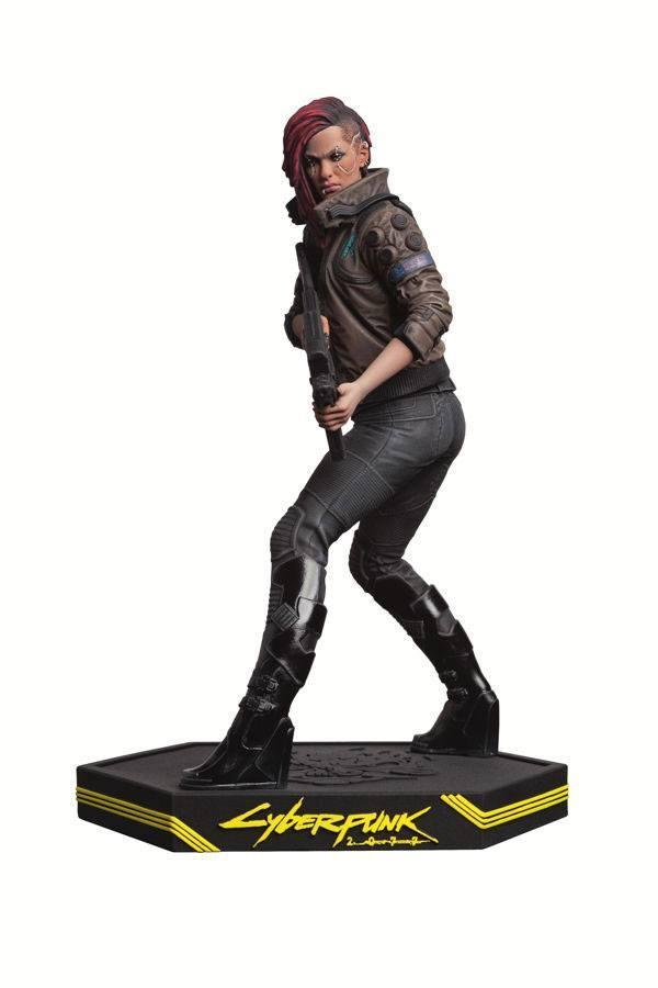 Cyberpunk 2077 statuette pvc female v 22 cm 1