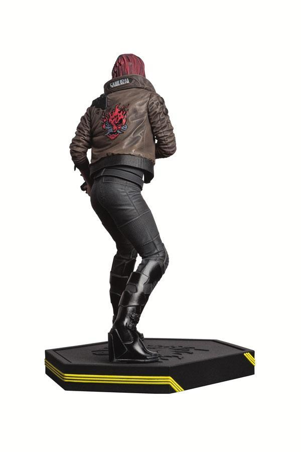 Cyberpunk 2077 statuette pvc female v 22 cm 2