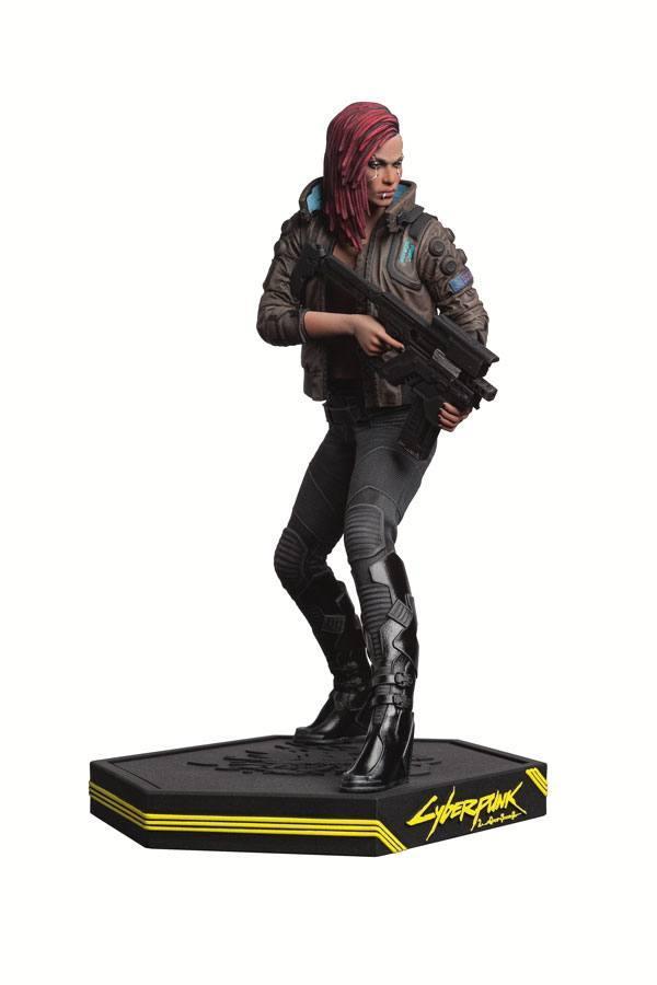 Cyberpunk 2077 statuette pvc female v 22 cm 3