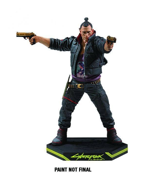 Cyberpunk 2077 statuette pvc jackie welles 25 cm