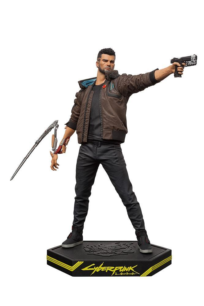 Cyberpunk 2077 statuette pvc male v 24 cm 3