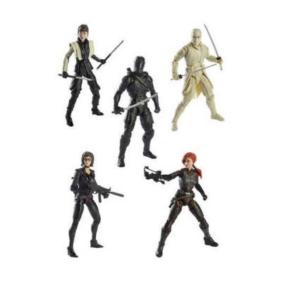 G.I. Joe Classified Series Snake Eyes: G.I. Joe Origins 2021 Wave 4 assortiment figurines (6)