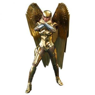 Wonder Woman 1984 figurine Movie Masterpiece 1/6 Golden Armor Wonder Woman 30 cm