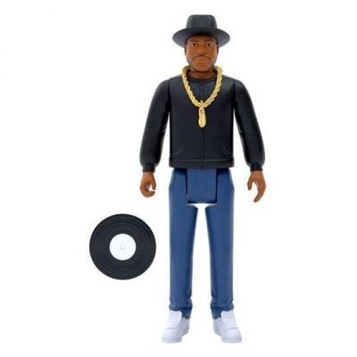 RUN DMC figurine ReAction Jam Master Jay 10 cm super7