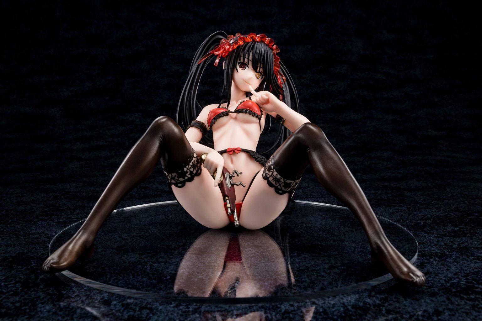 Date a live statuette tokisaki kurumi zafukyel tamer s relaxation 22 cm 6