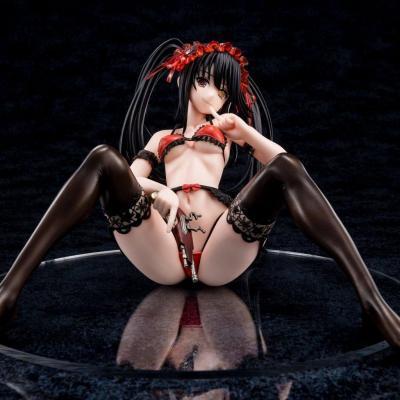 Date A Live statuette PVC 1/6 Tokisaki Kurumi Zafukyel Tamer's Relaxation 22 cm
