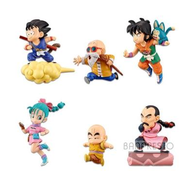 Dbz wcf the historical characters 30th anniv 12pcs asst 7cm
