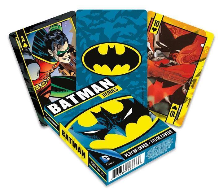 Dc comics jeu de cartes a jouer batman heroes