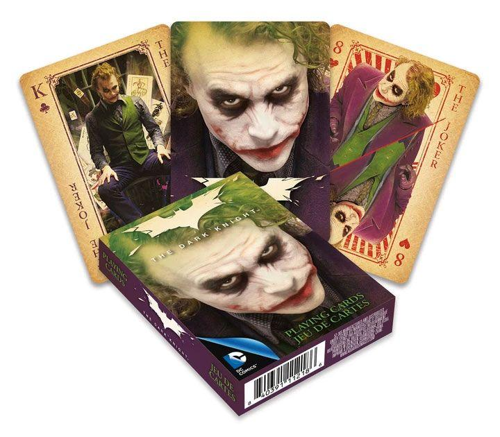 Dc comics jeu de cartes a jouer joker heath ledger