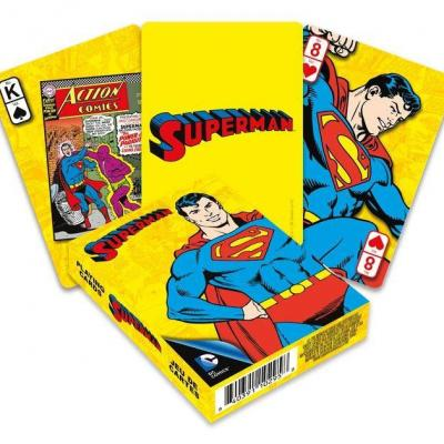 DC Comics jeu de cartes à jouer Retro Superman