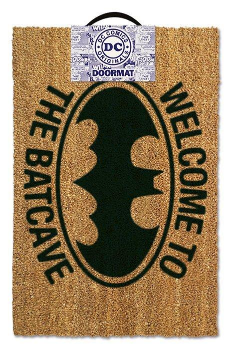 Dc comics paillasson welcome to the batcave 40 x 60 cm