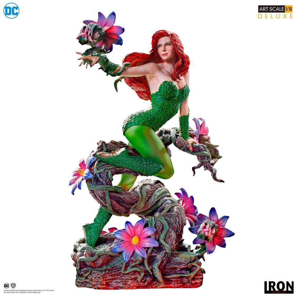 Dc comics statuette 110 art scale poison ivy by ivan reis 20 cm 1
