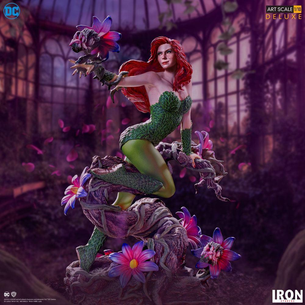 Dc comics statuette 110 art scale poison ivy by ivan reis 20 cm 2