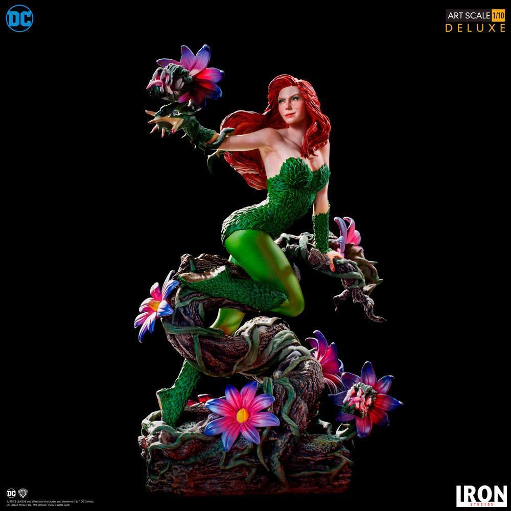 Dc comics statuette 110 art scale poison ivy by ivan reis 20 cm 3