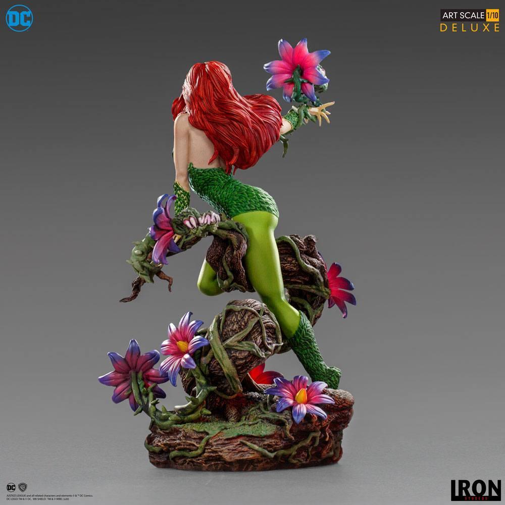 Dc comics statuette 110 art scale poison ivy by ivan reis 20 cm 5