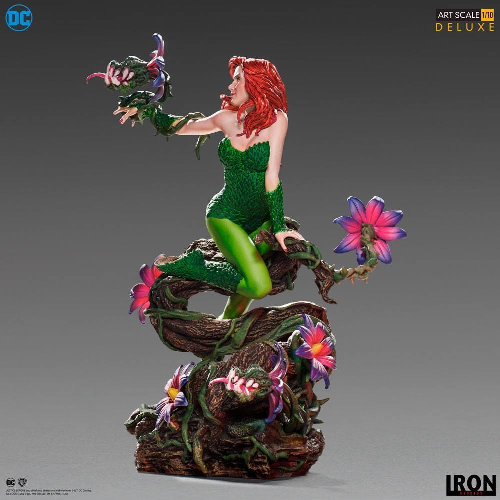 Dc comics statuette 110 art scale poison ivy by ivan reis 20 cm 6