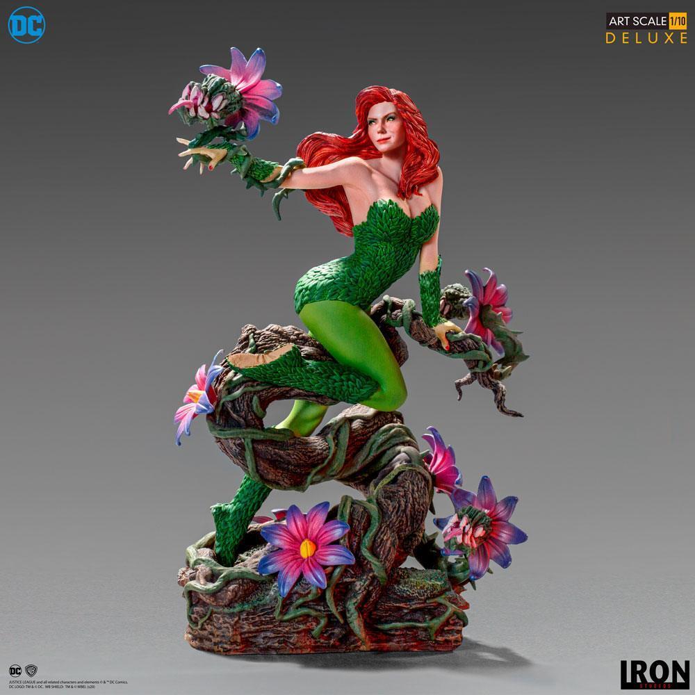 Dc comics statuette 110 art scale poison ivy by ivan reis 20 cm 7