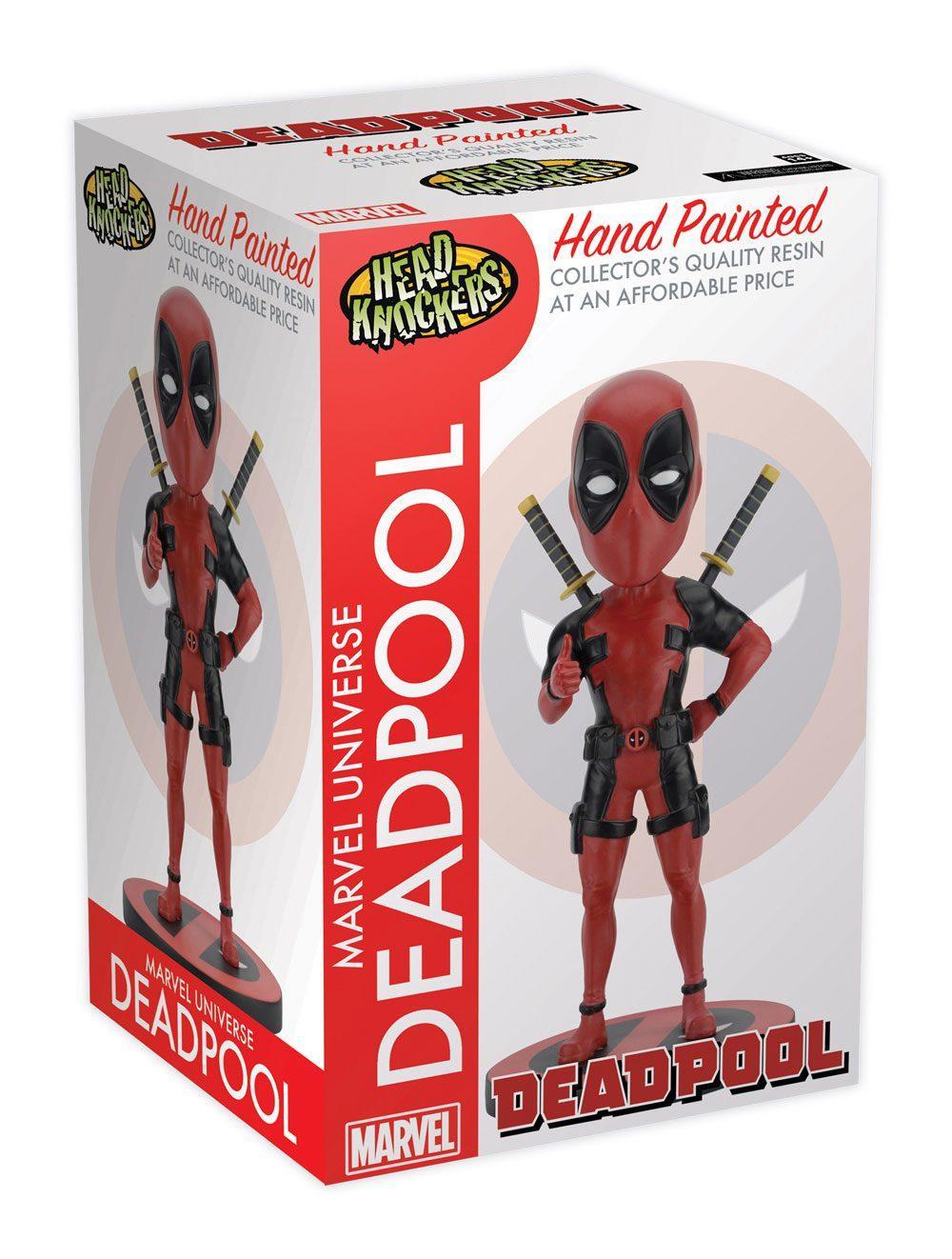 Deadpool bobbles head figurine neca 1