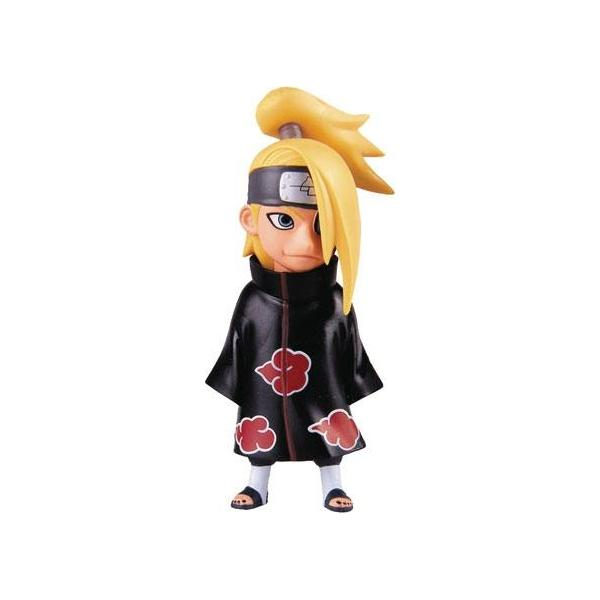 Deidara akatsuki figurine mini toynami suukoo toys naruto shippuden 1