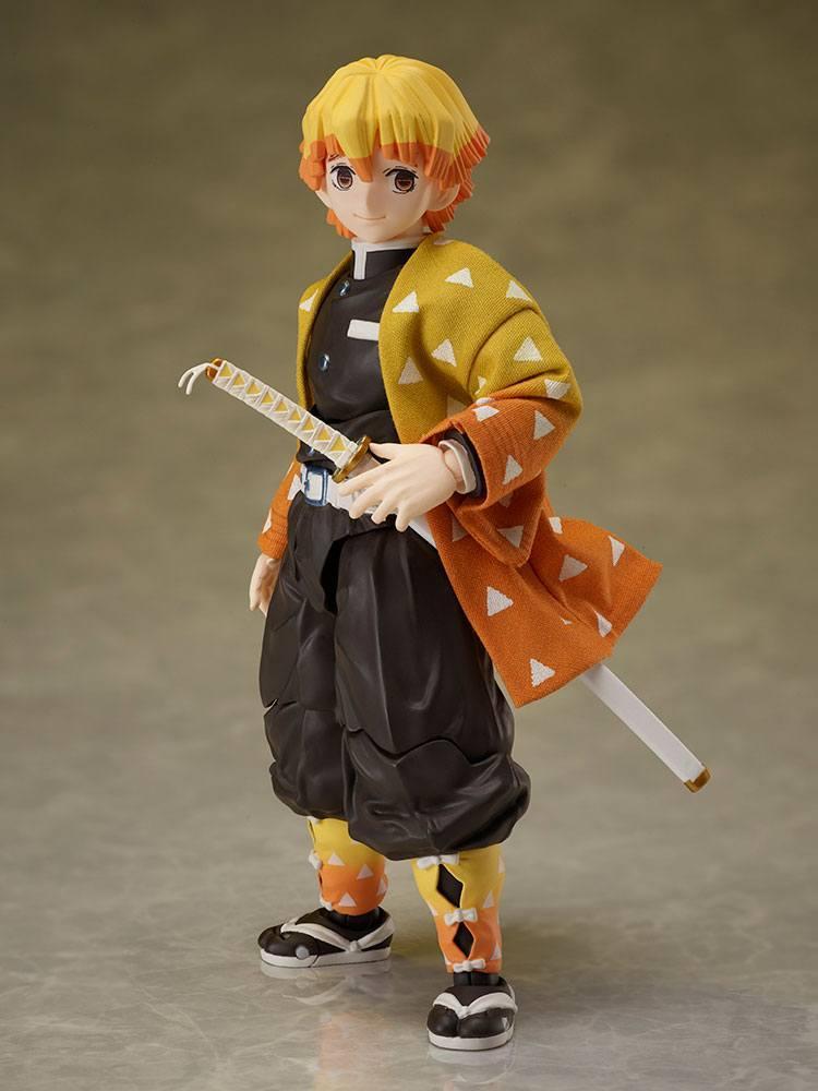 Demon slayer kimetsu no yaiba figurine zenitsu agatsuma 14 cm aniplex 1