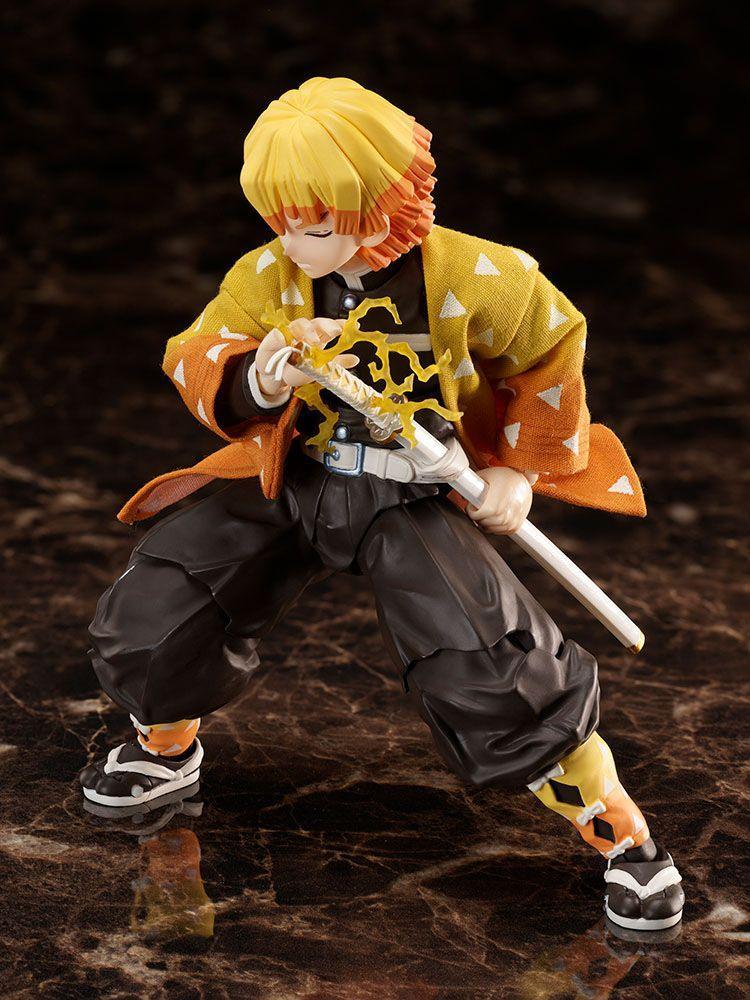 Demon slayer kimetsu no yaiba figurine zenitsu agatsuma 14 cm aniplex 3