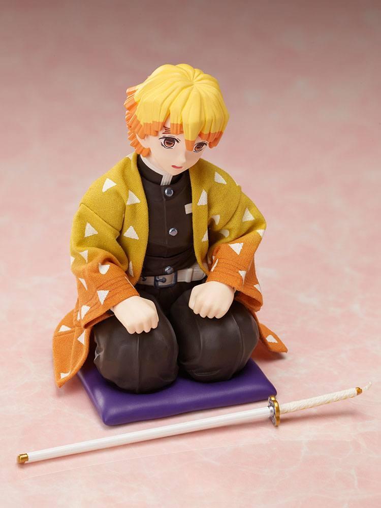 Demon slayer kimetsu no yaiba figurine zenitsu agatsuma 14 cm aniplex 6