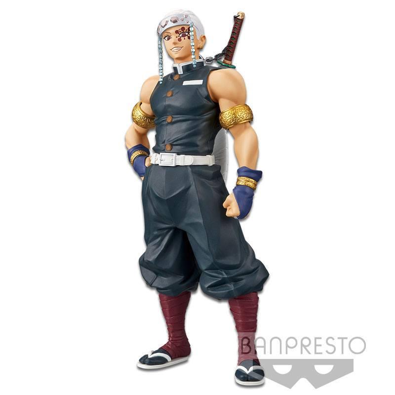 Demon slayer kimetsu no yaiba statuette pvc tengen uzui 18 cm