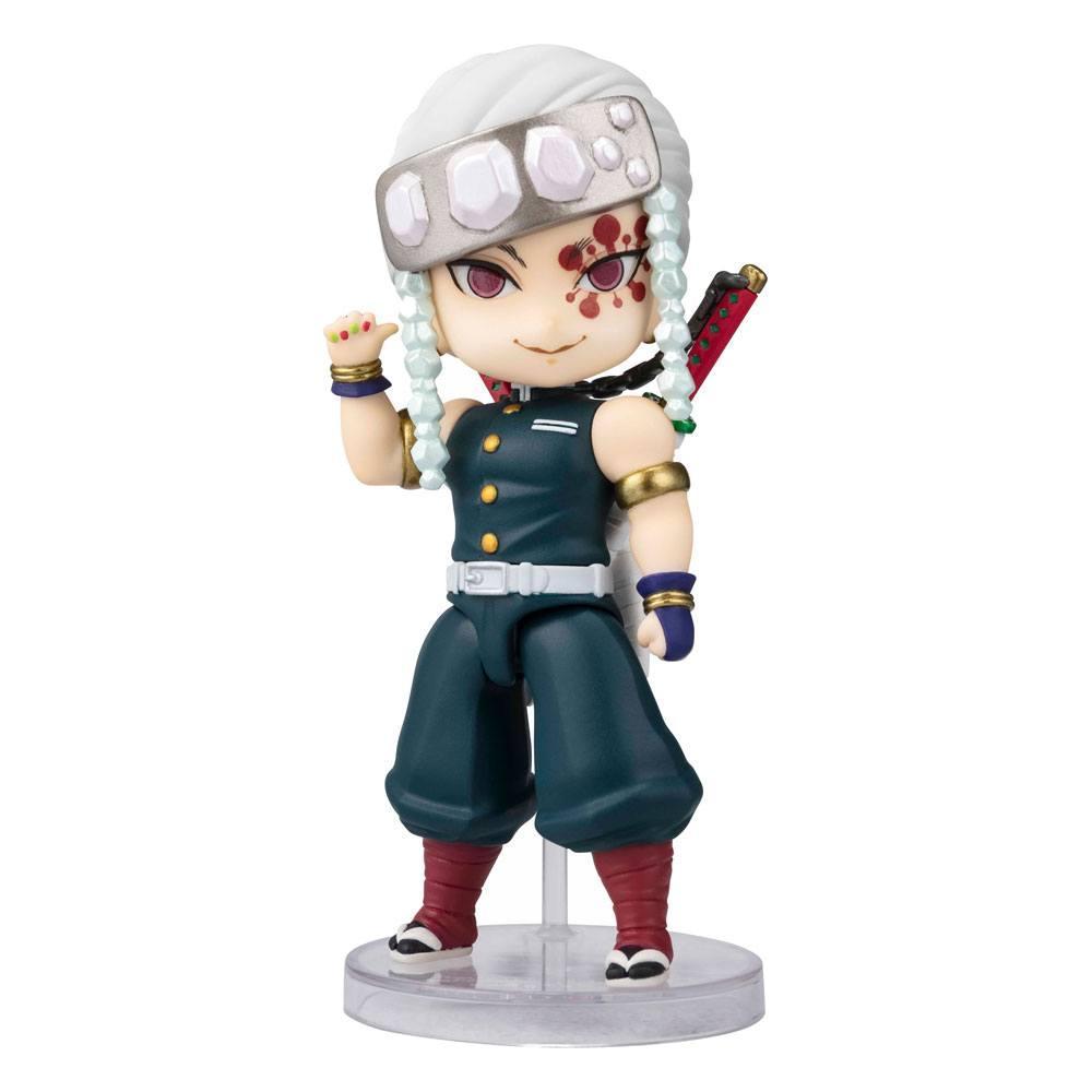 Demon slayer kimetsu no yaibafigurine figuarts mini uzui tengen 10 cm suukoo toys 1