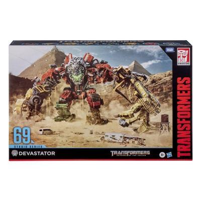 Transformers : Revenge of the Fallen Studio - Devastator - Hasbro Series pack 8 figurines 2020