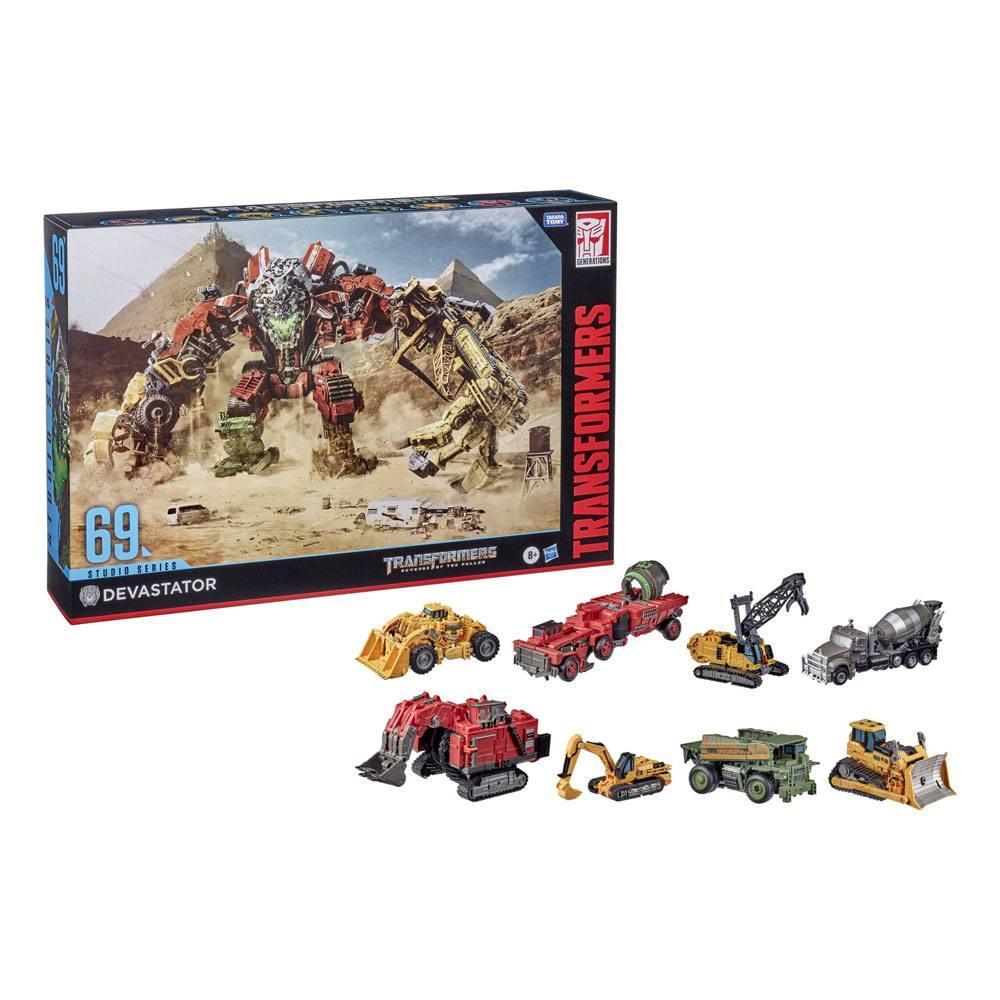 Devastator hasbro transformers 4