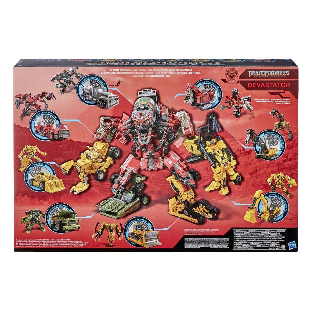 Devastator hasbro transformers 5