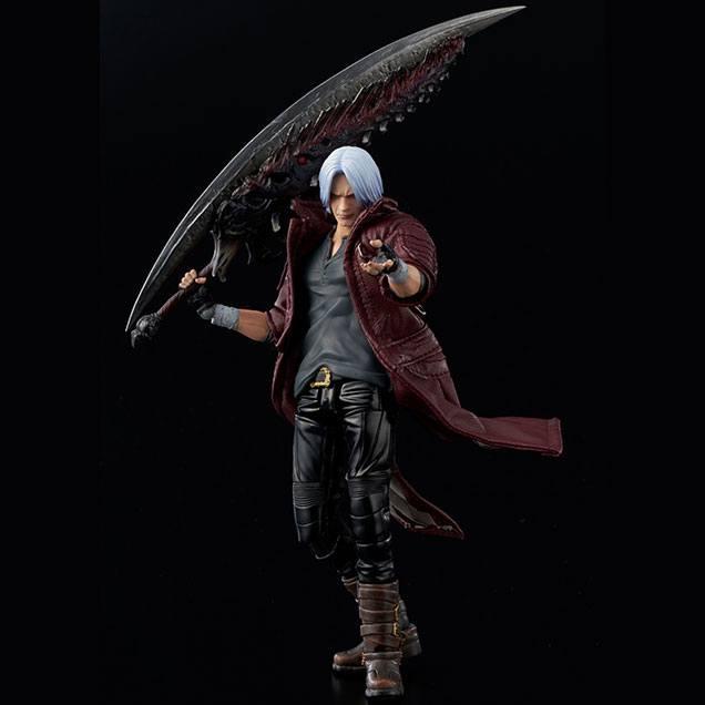 Devil may cry 5 figurine 112 dante deluxe version 16 cm 1