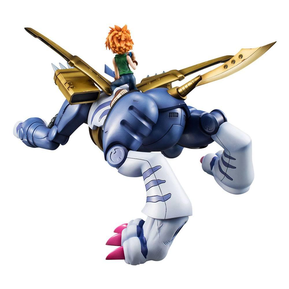 Digimon adventure g e m precious series statuette pvc metal garurumon ishida yamato 30 cm 5